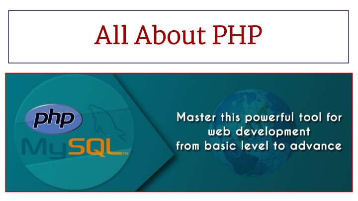 all about php n.