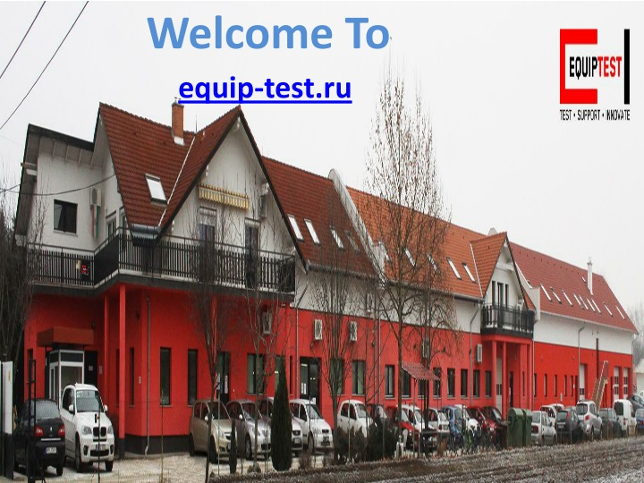welcome to equip test ru n.