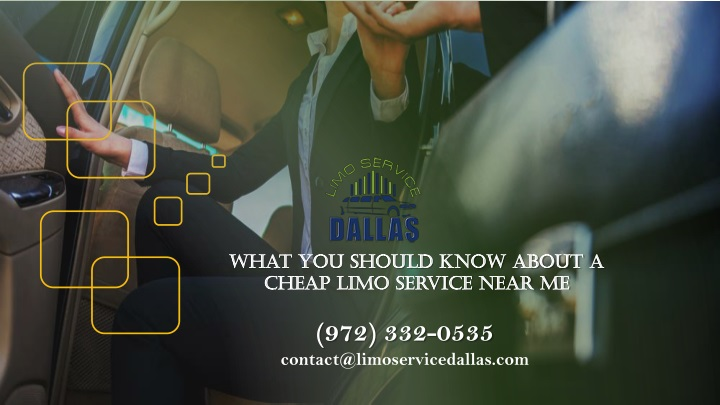 what you should know about a cheap limo service n.