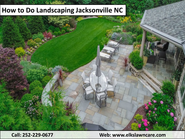 how to do landscaping jacksonville nc n.