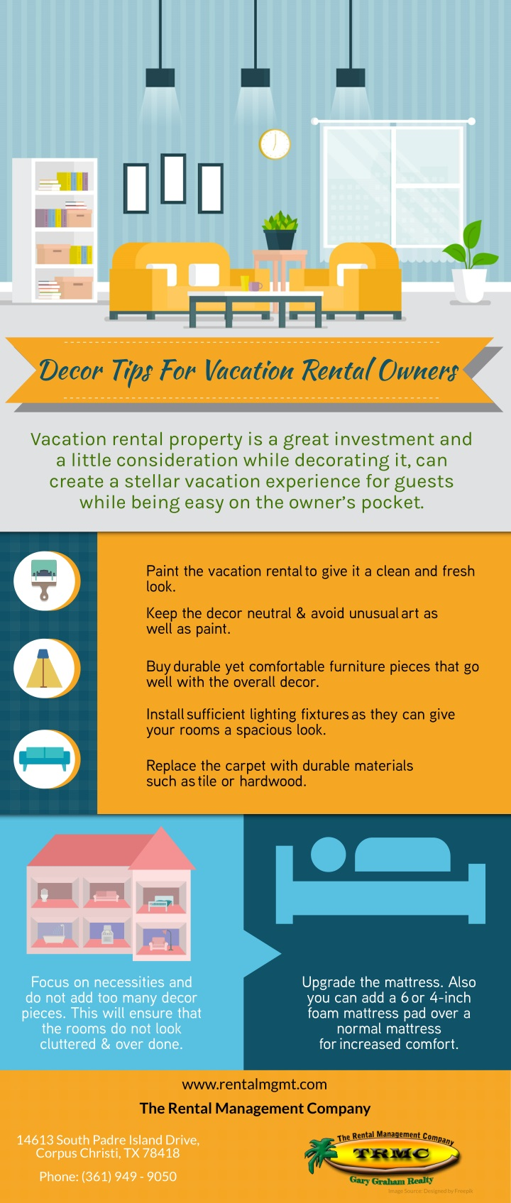 decor tips for vacation rental owners n.
