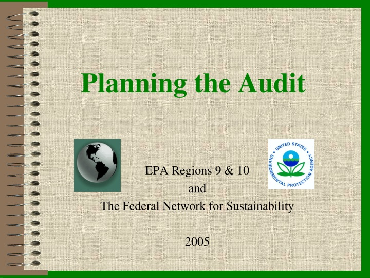 planning the audit n.