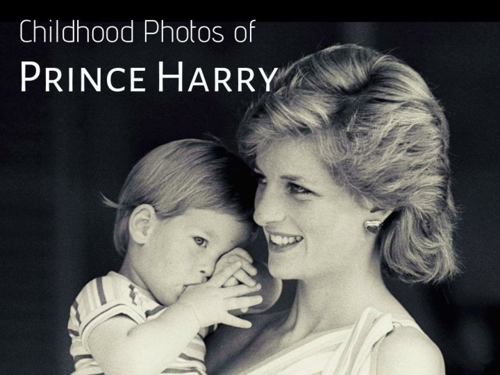 childhood photos of prince harry n.