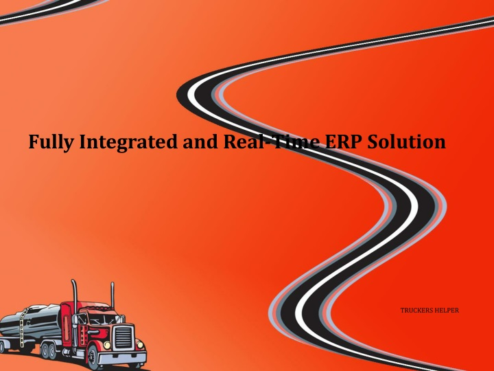 fully integrated and real time erp solution n.
