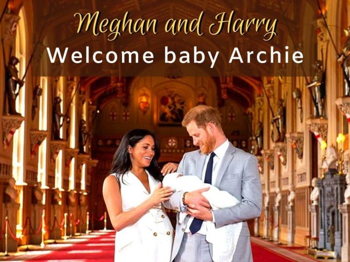 meghan and harry welcome baby archie n.