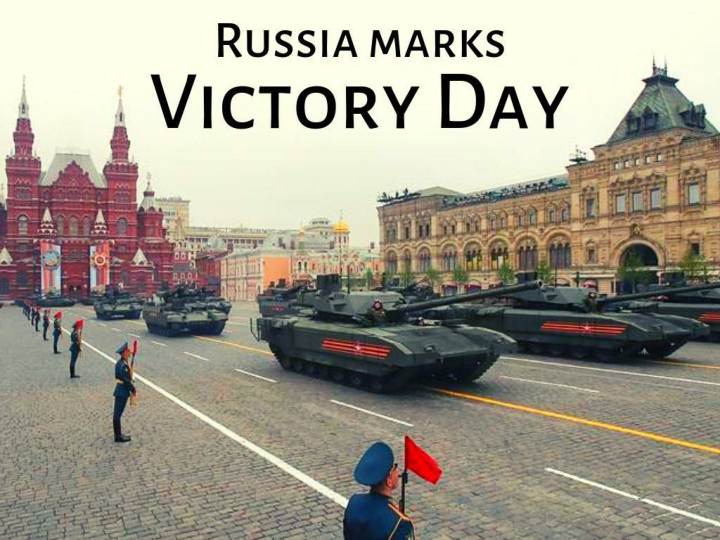 russia marks victory day n.
