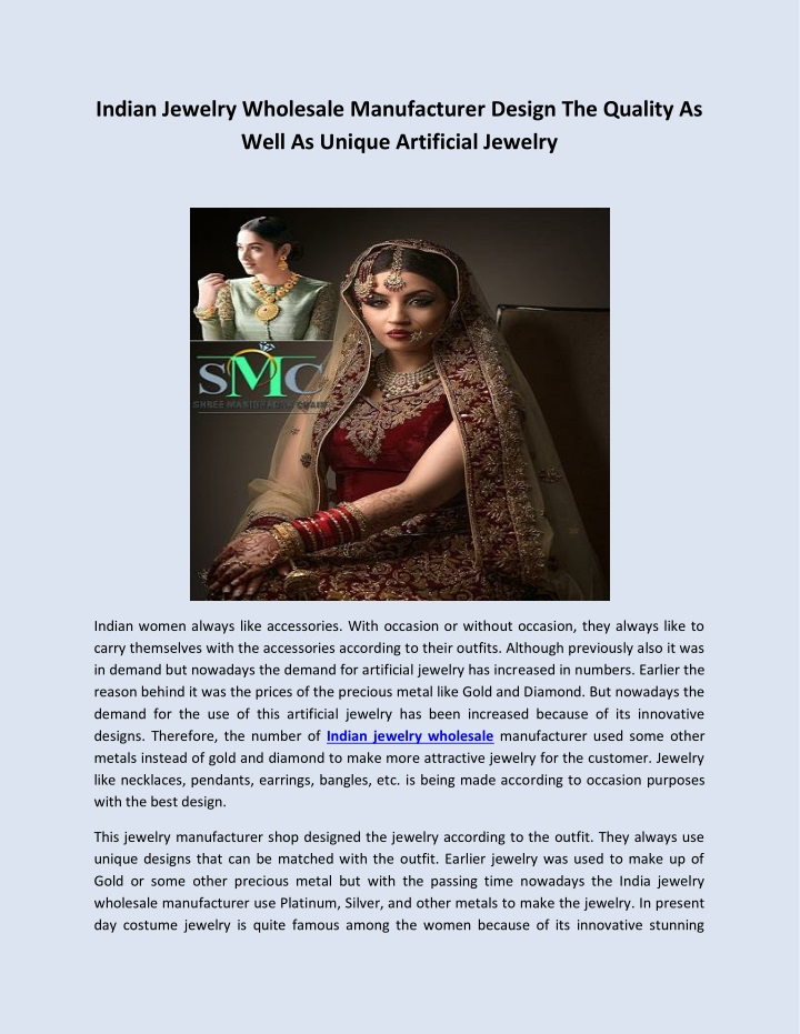 indian jewelry wholesale manufacturer design n.