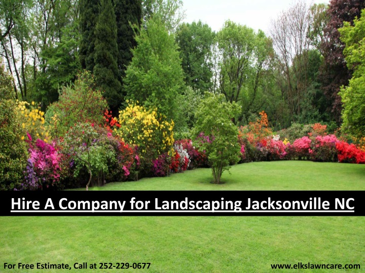hire a company for landscaping jacksonville nc n.