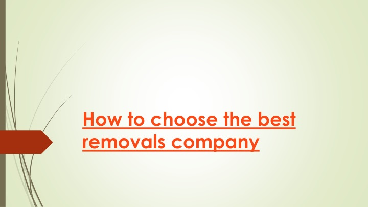 how to choose the best removals company n.