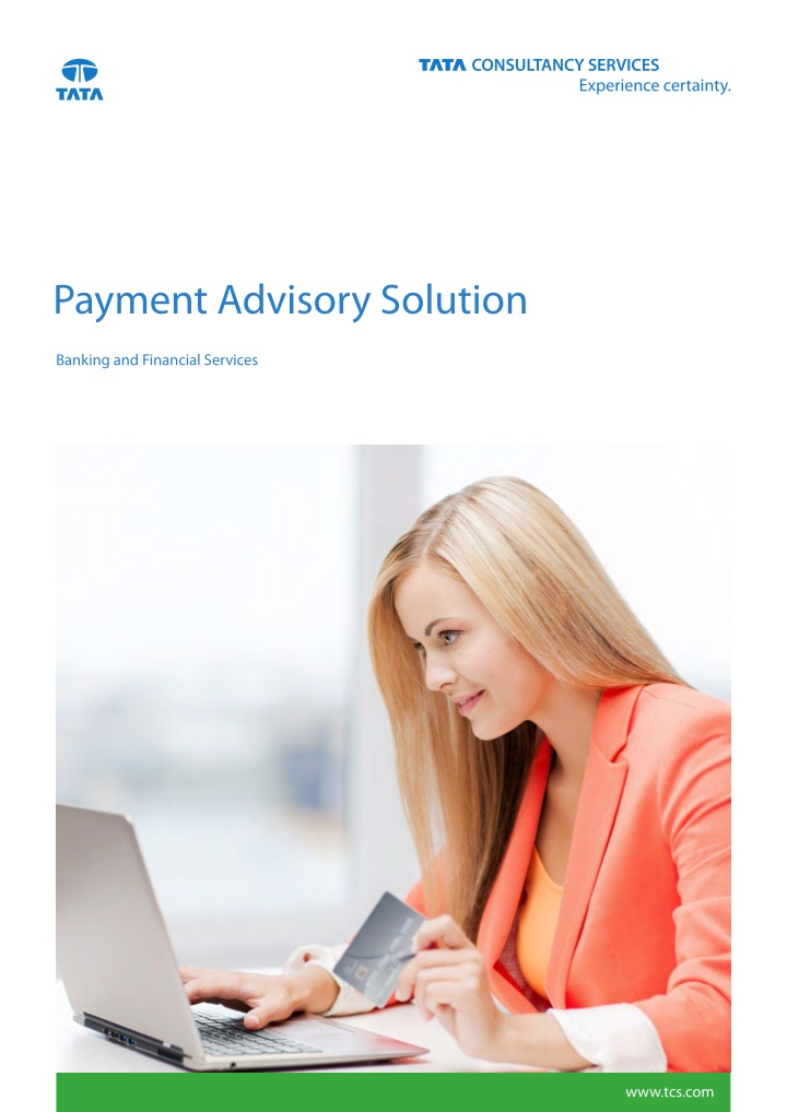 payment advisory solution n.