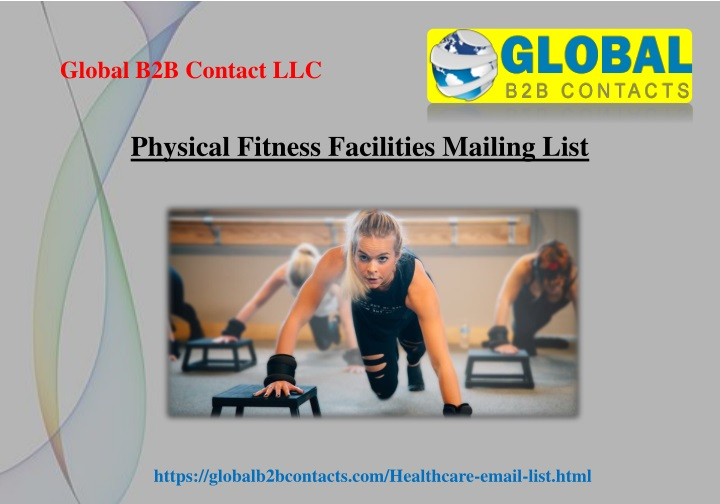 physical fitness facilities mailing list n.