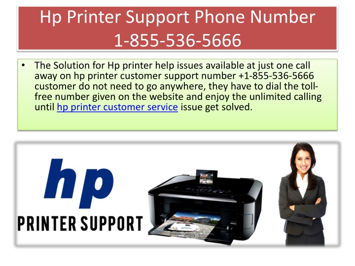 hp printer support phone number 1 855 536 5666 n.