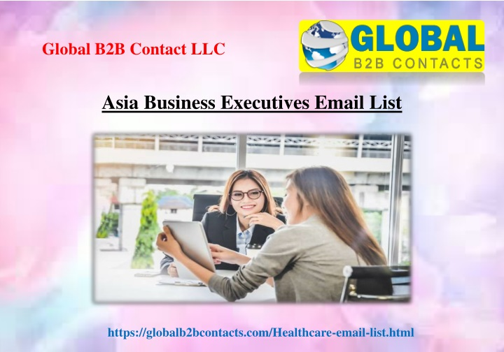 asia business executives email list n.