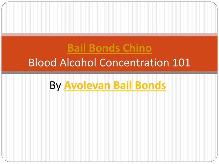 bail bonds chino blood alcohol concentration 101 n.