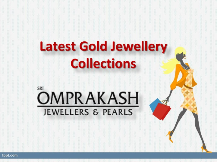 latest gold jewellery collections n.