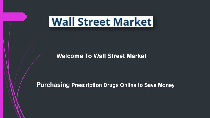 welcome to wall street market n.