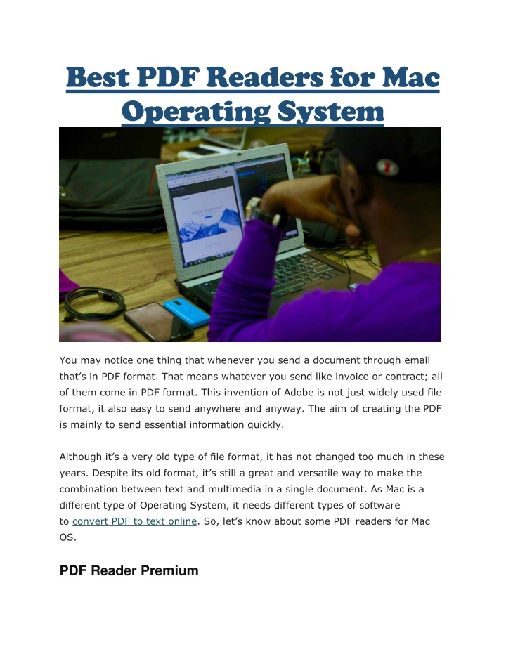 best pdf readers for mac operating system n.