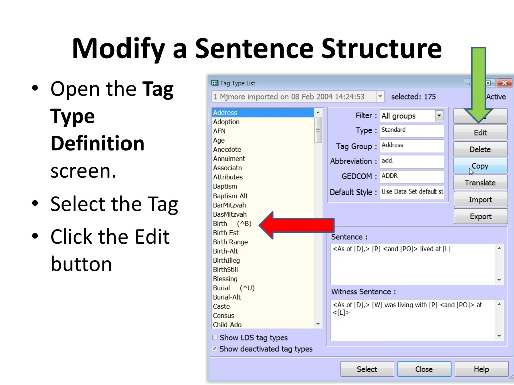 Ppt Using And Modifying Tag Sentence Updated Powerpoint Presentation Id 839210