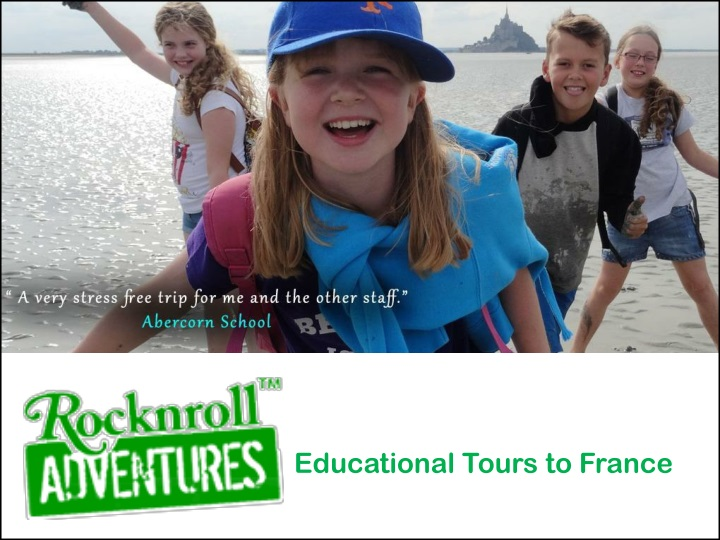 educational tours to france n.