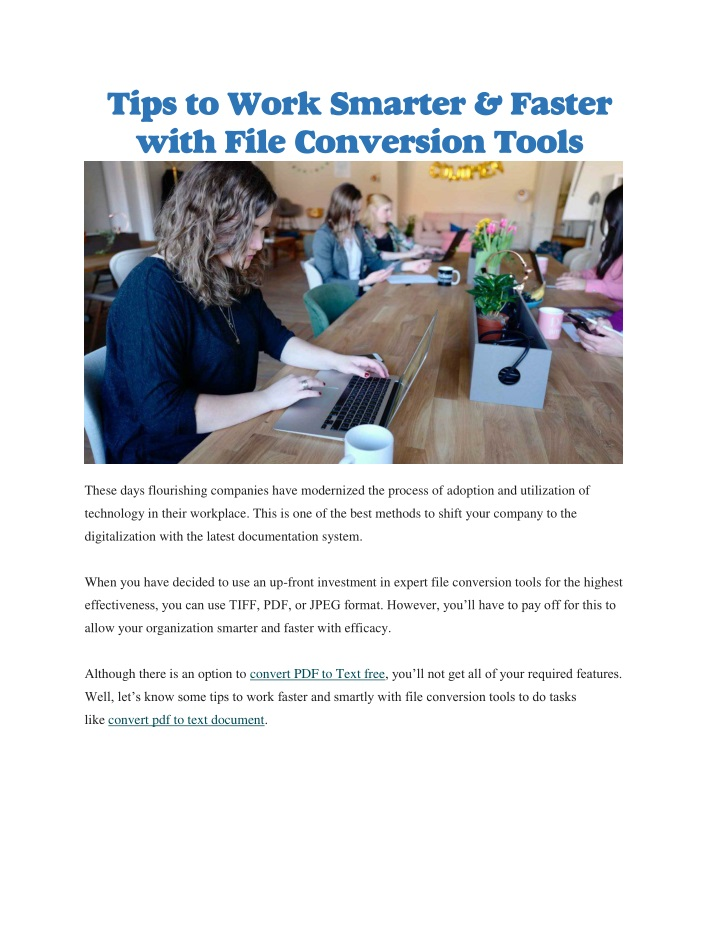 tips to work smarter faster with file conversion n.