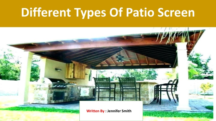 different types of patio screen n.