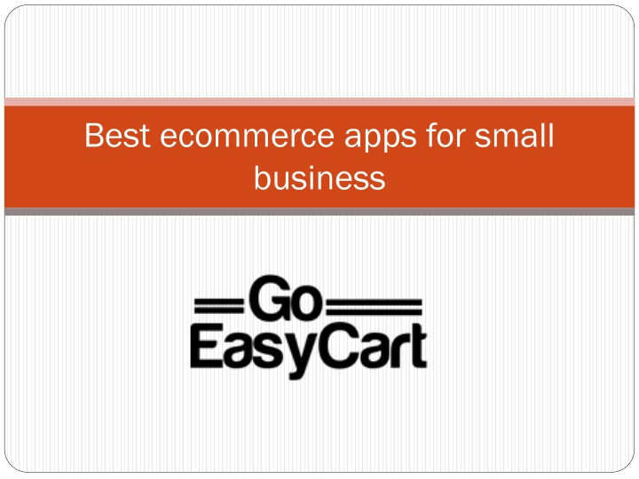 best ecommerce apps for small business n.