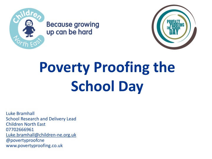 poverty proofing the school day n.