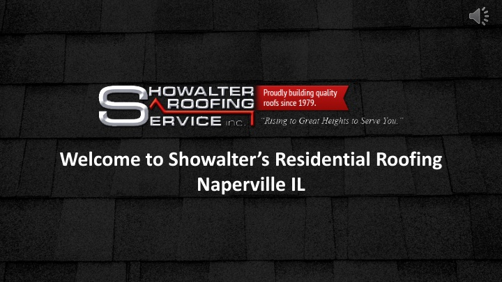 welcome to showalter s residential roofing n.