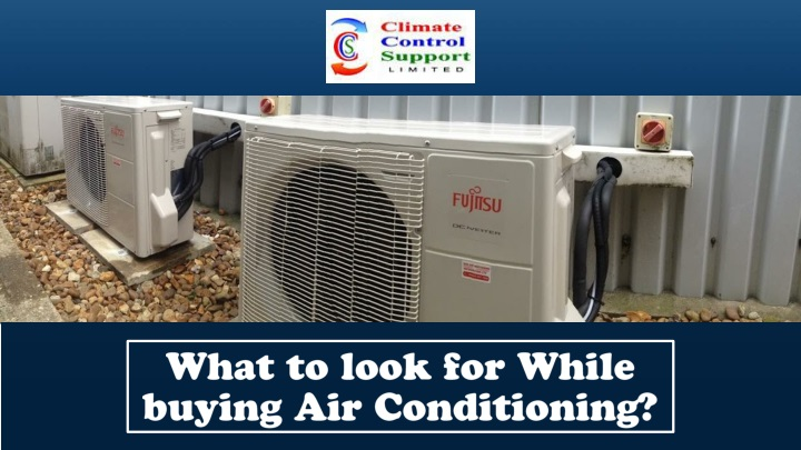 what to look for while buying air conditioning n.