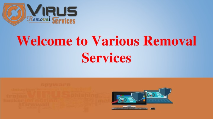 welcome to various removal services n.