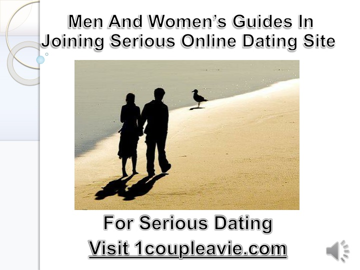 men and women s guides in joining serious online n.