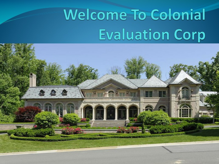 welcome to colonial evaluation corp n.