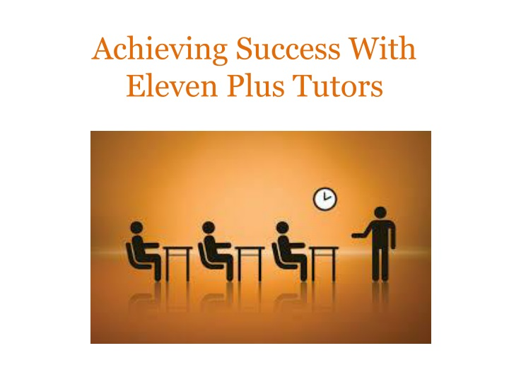 achieving success with eleven plus tutors n.