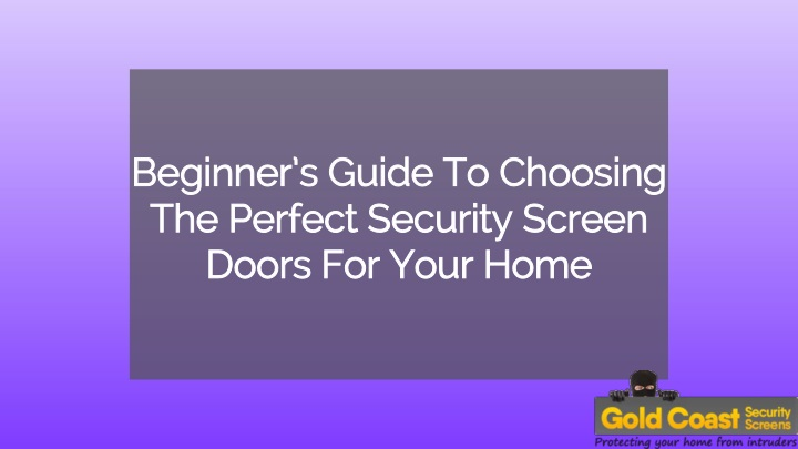 beginner s guide to choosing the perfect security n.