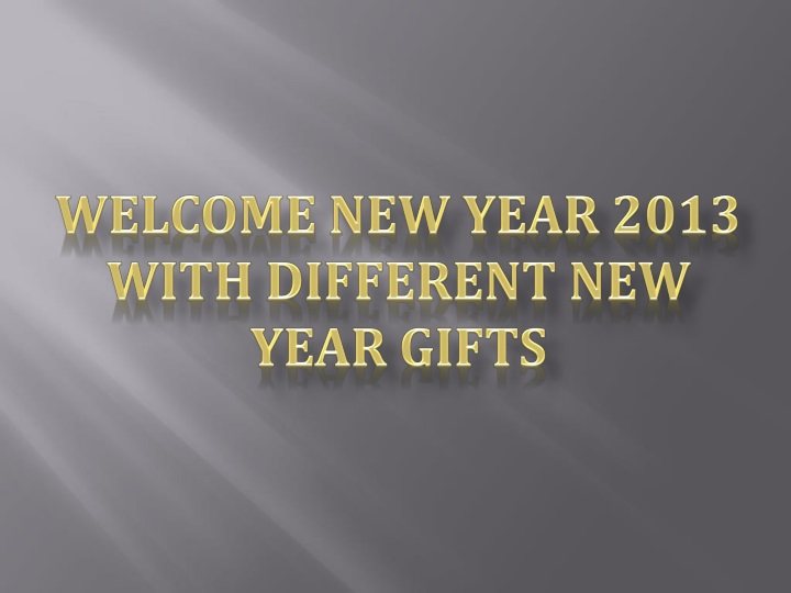 welcome new year 2013 with different new year n.