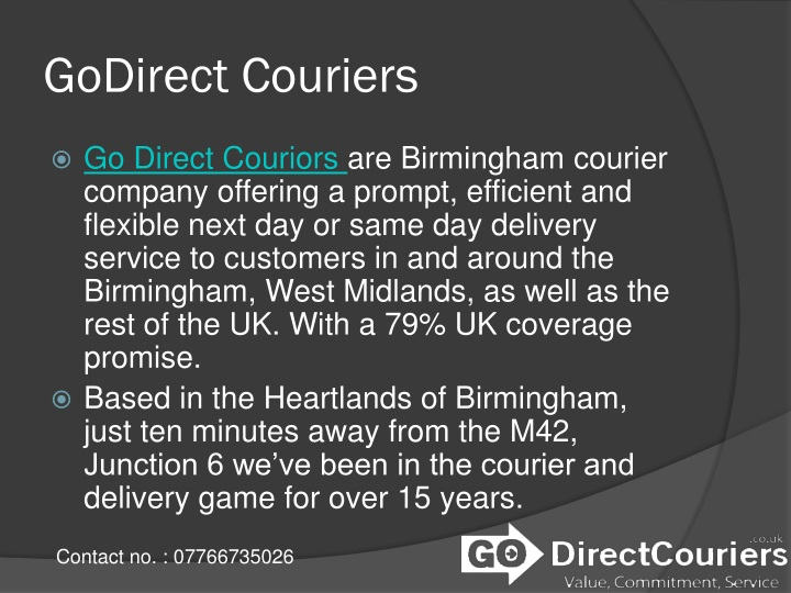 godirect couriers n.