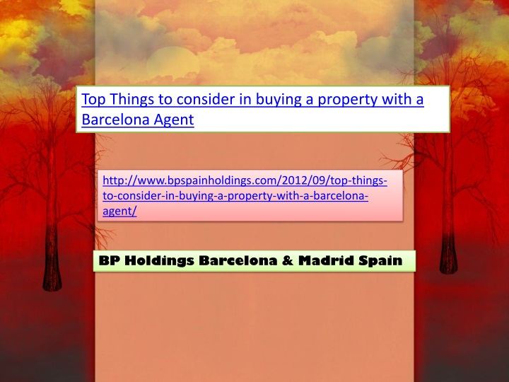 top things to consider in buying a property with n.