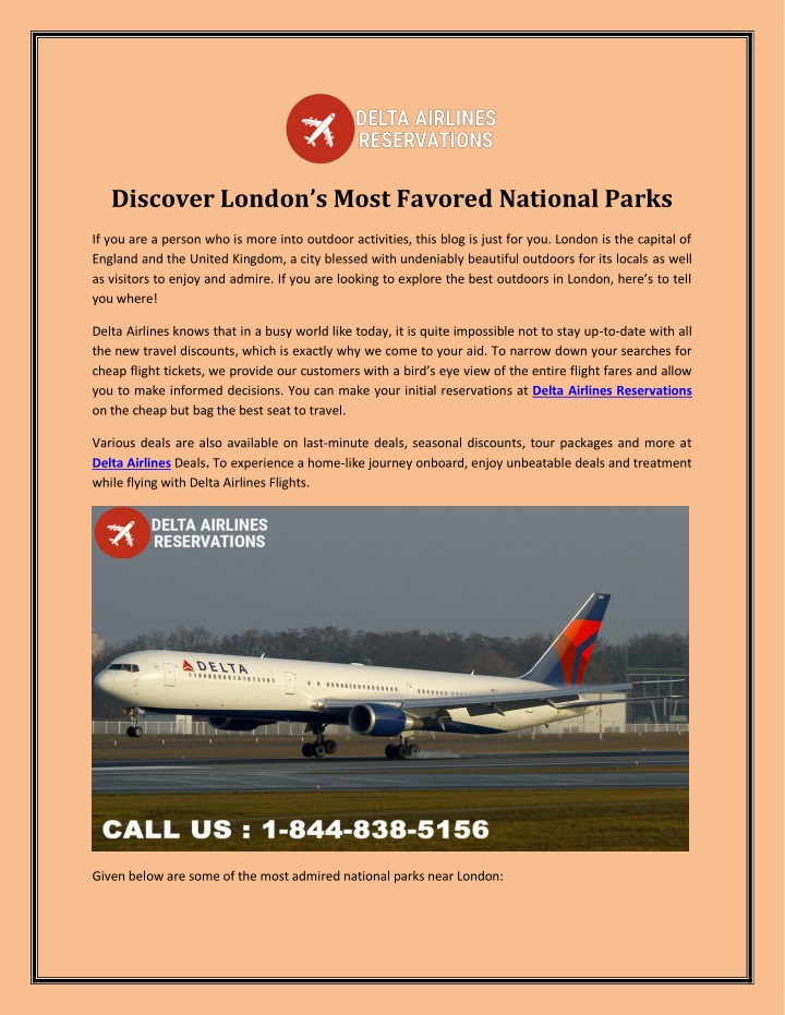 discover london s most favored national parks n.
