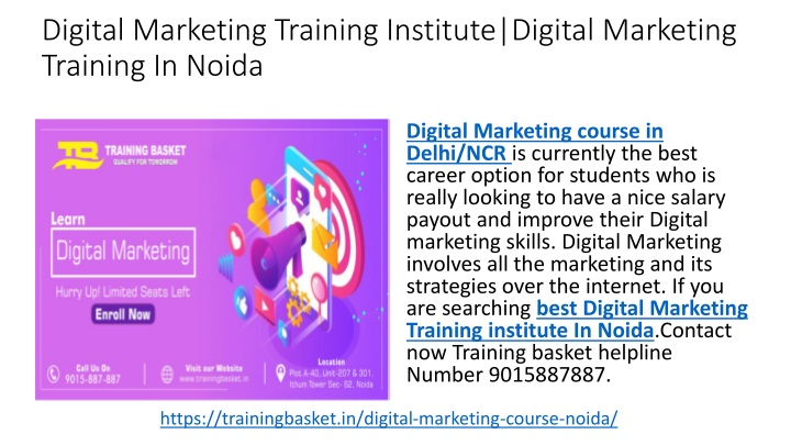 digital marketing training institute digital marketing training in noida n.