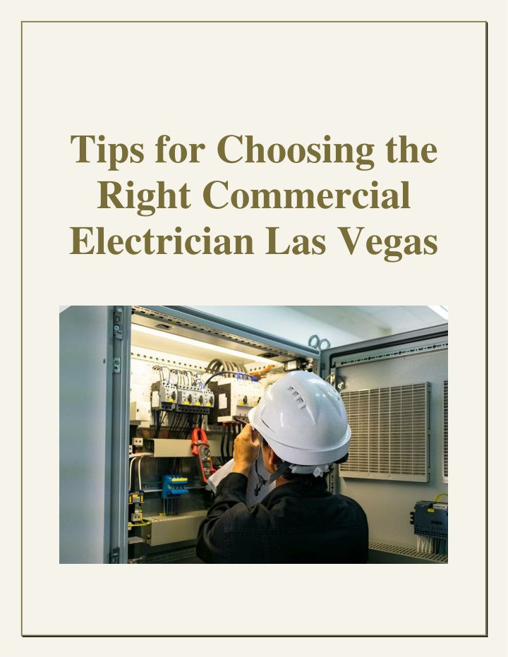 tips for choosing the right commercial n.