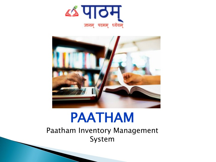 paatham paatham inventory management system n.