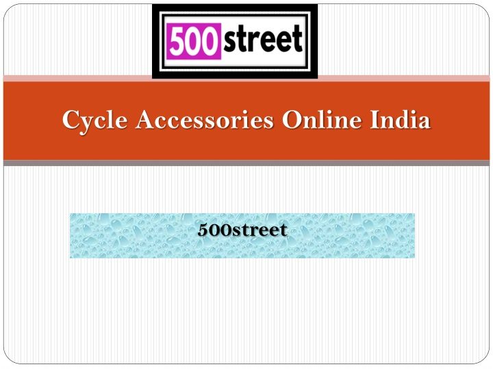 cycle accessories online india n.