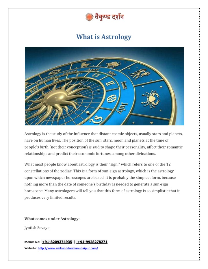 what is astrology n.