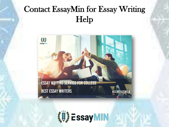 contact essaymin for essay writing help n.