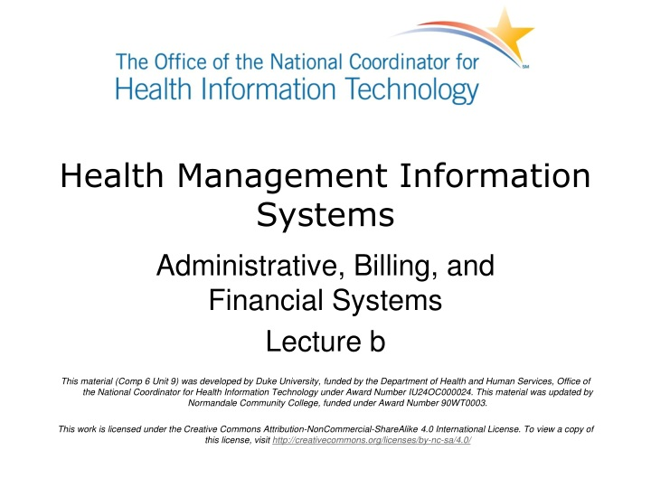 health management information systems n.