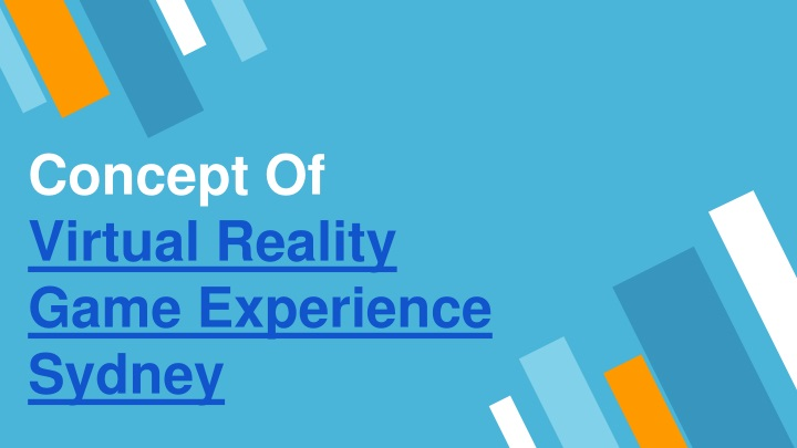 concept of virtual reality game experience sydney n.