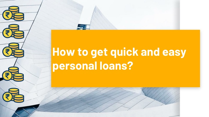 how to get quick and easy personal loans n.