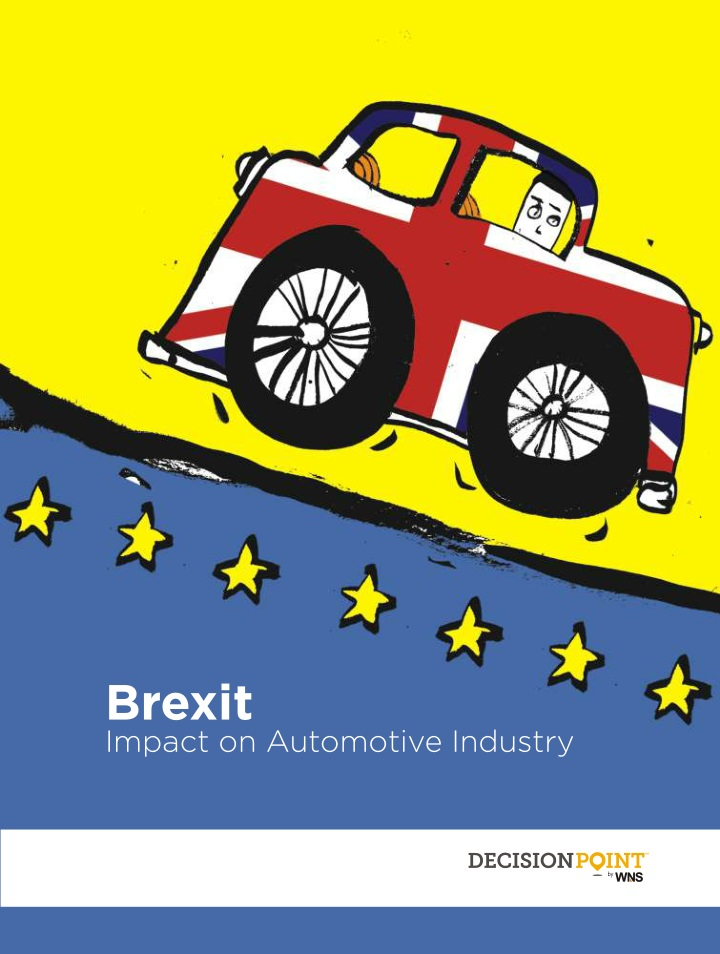 brexit impact on automotive industry n.