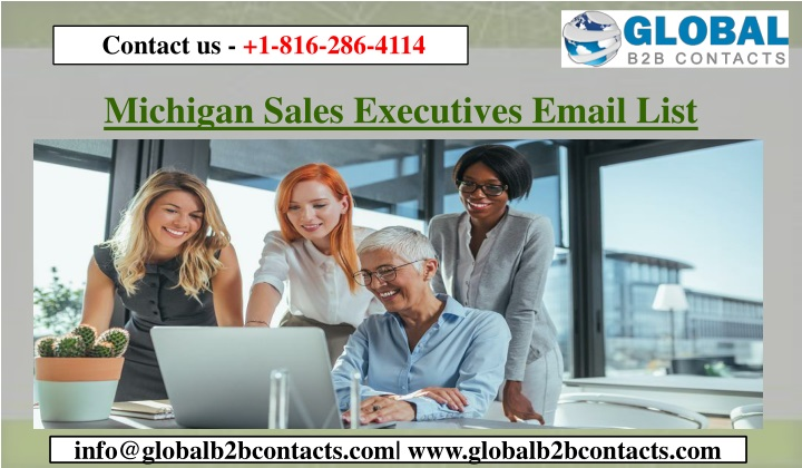 michigan sales executives email list n.