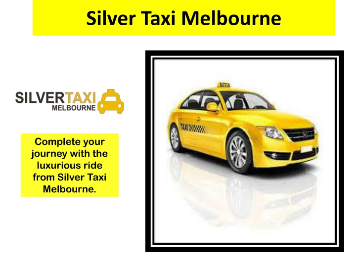 silver taxi melbourne n.